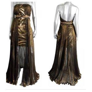 Alberto Makali Chiffon Fancy Dress prom dress